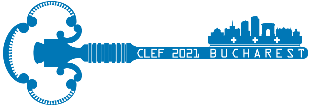 CLEF Bucharest 2021 logo